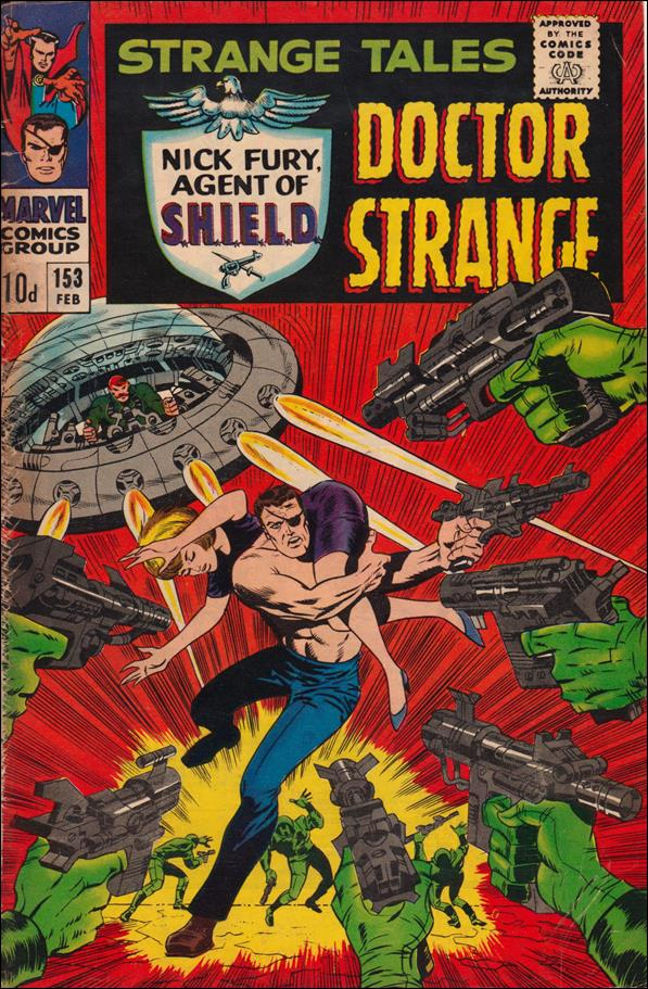 Strange Tales (1951) 153-B by Marvel