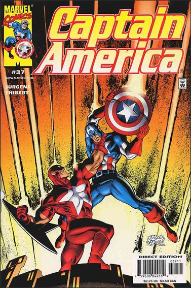 Captain America (1998) 37-A by Marvel