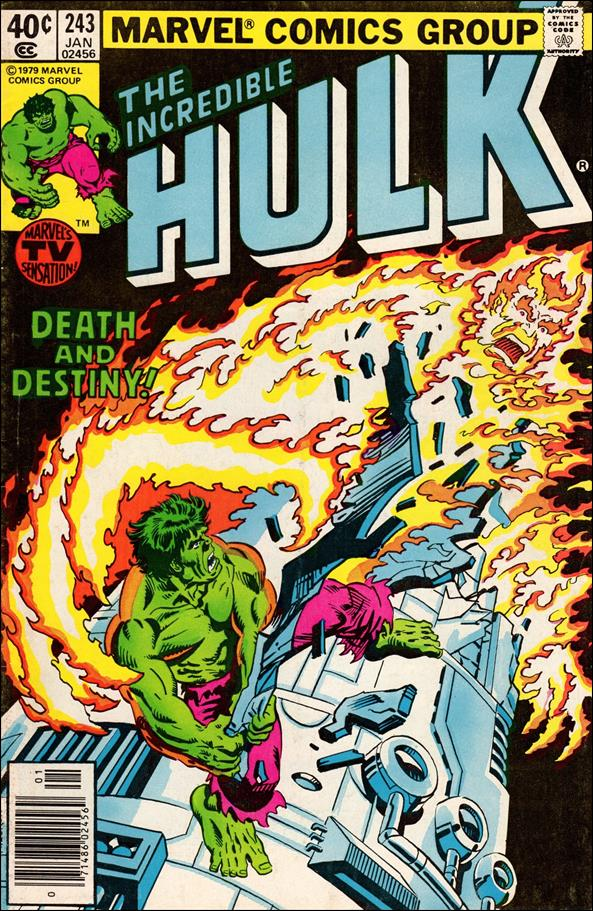 Incredible Hulk (1968) 243-A by Marvel