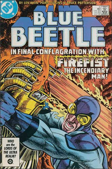 Blue Beetle (1986) 2-A by DC