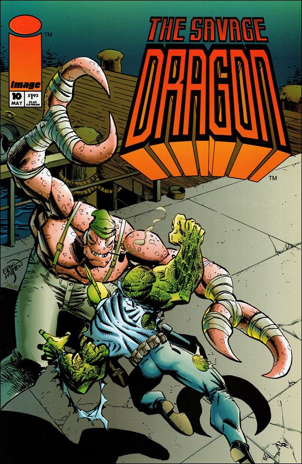 Savage Dragon (1993) 10-A by Image