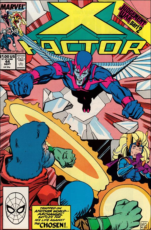 X-Factor (1986) 44-A by Marvel