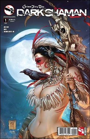 Grimm Fairy Tales Presents Dark Shaman 1-A