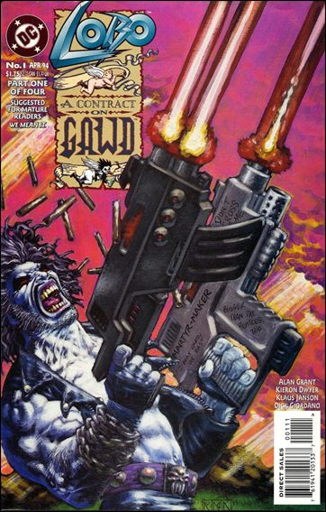 Lobo: A Contract on Gawd 1-A by DC