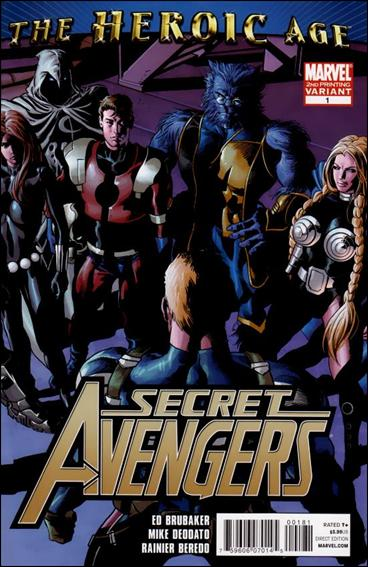 Secret Avengers (2010) 1-E by Marvel