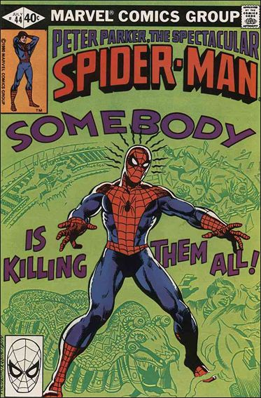 Spectacular Spider-Man (1976) 44-A by Marvel