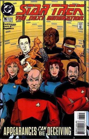 Star Trek: The Next Generation (1989) 76-A by DC