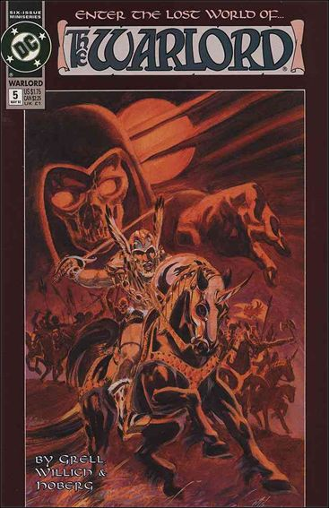 Warlord (1992) 5-A by DC