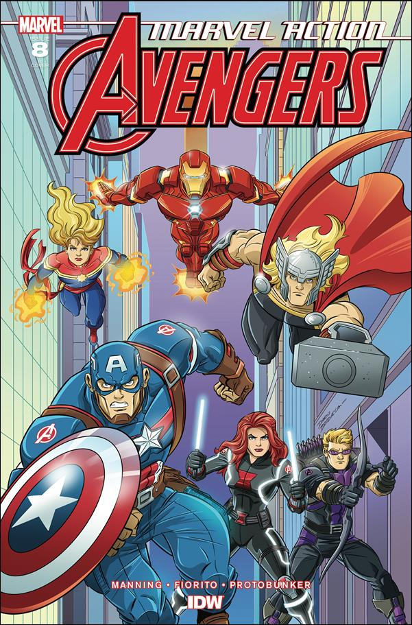 Marvel Action: Avengers 8-B by IDW