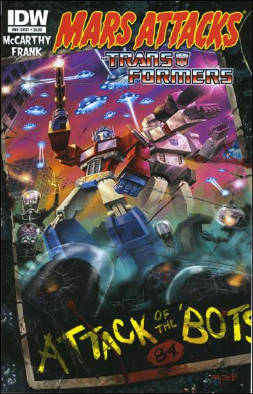 Mars Attacks Transformers One-Shot-A by IDW