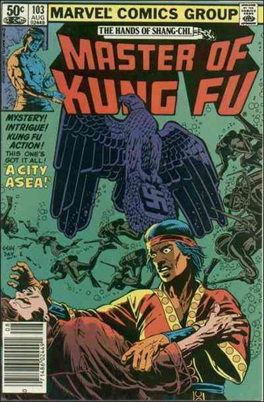Master of Kung Fu (1974) 103-A by Marvel