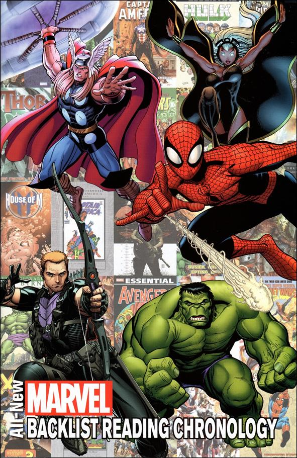 All-New Marvel Backlist Reading Chronology 1-A by Marvel