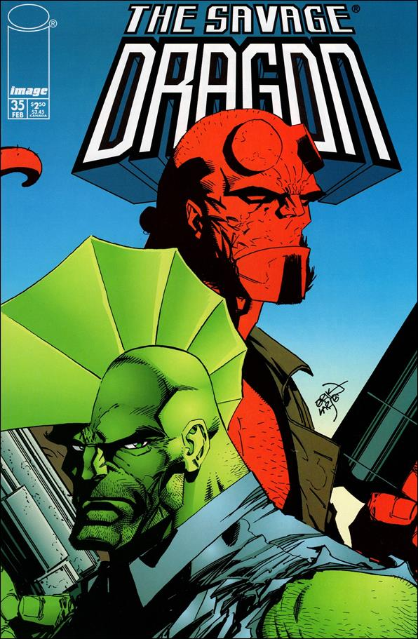Savage Dragon (1993) 35-A by Image
