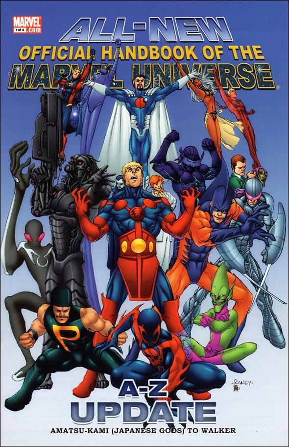 All-New Official Handbook of the Marvel Universe A to Z: Update 1-A by Marvel
