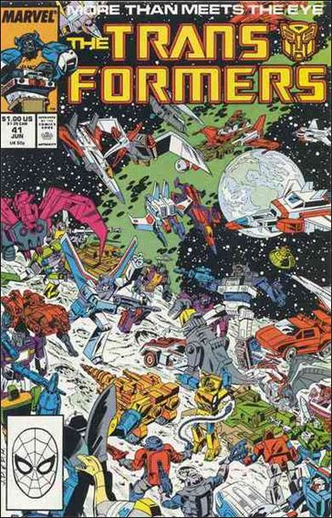 Transformers (1984) 41-A by Marvel