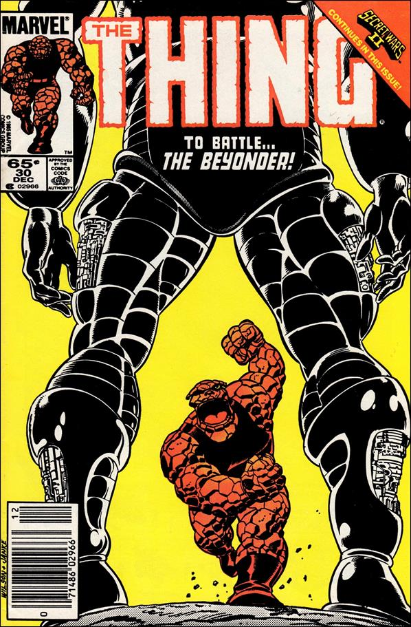 Thing (1983) 30-A by Marvel