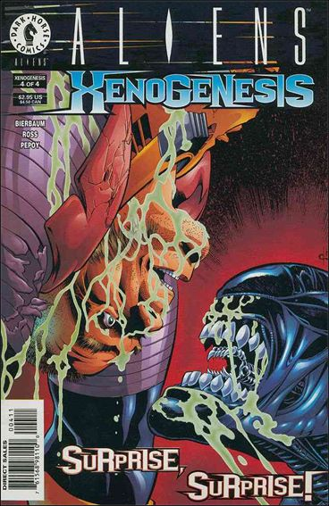 Aliens: Xenogenesis 4-A by Dark Horse
