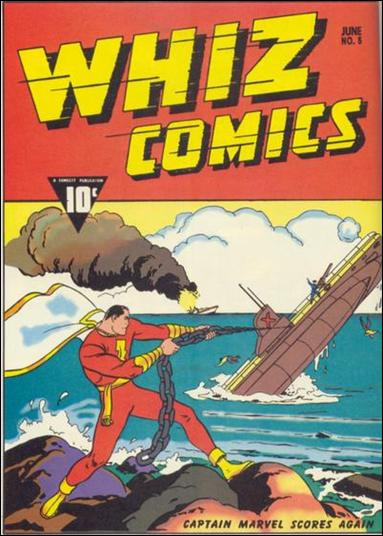 Whiz Comics 5-B by Fawcett