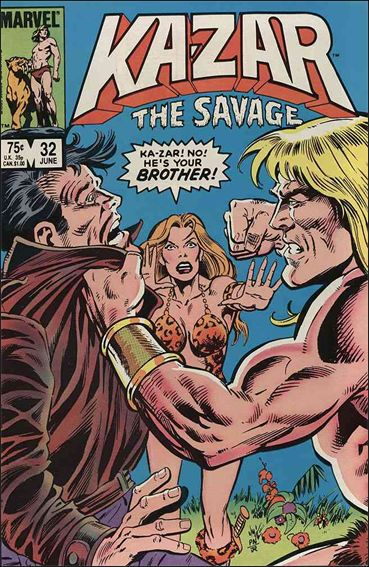 Ka-Zar the Savage 32-A by Marvel