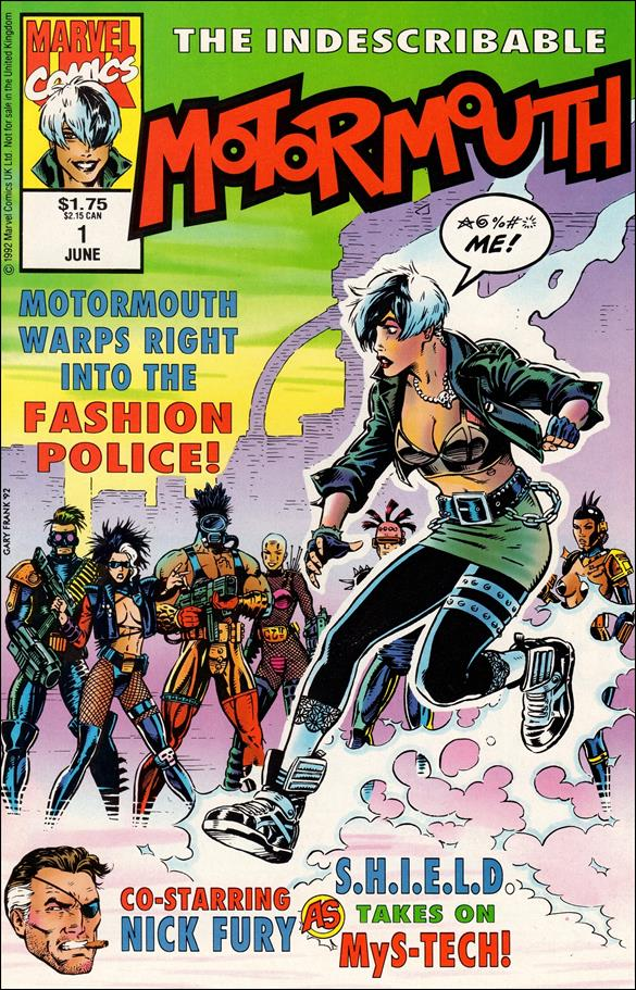 Motormouth (UK) 1-A by Marvel UK