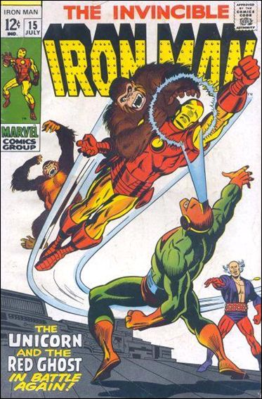 Iron Man (1968) 15-B by Marvel