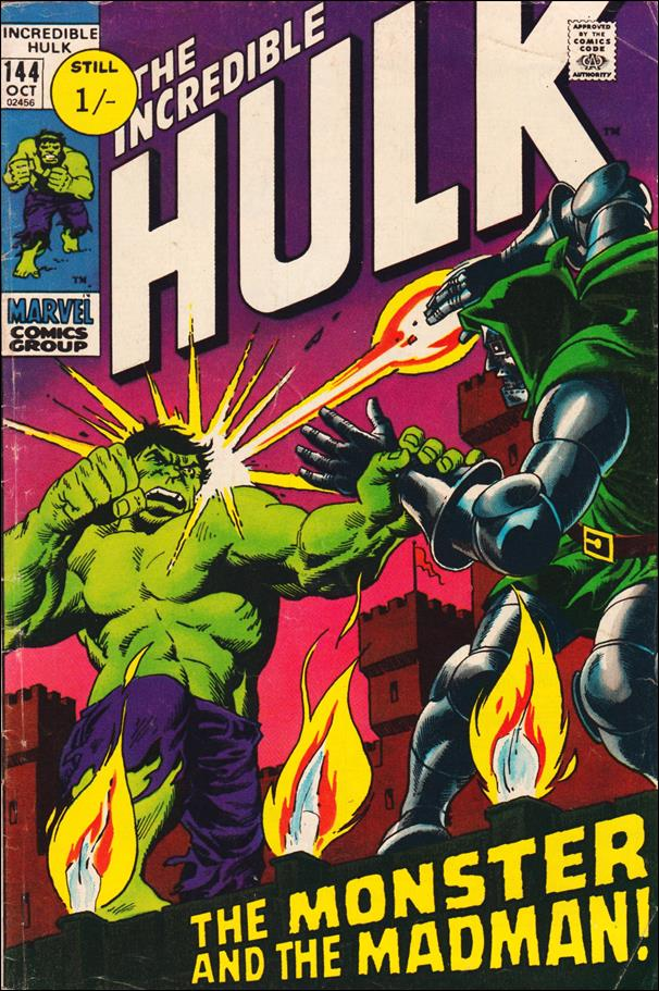 Incredible Hulk (1968) 144-B by Marvel
