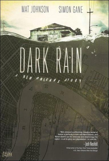 Dark Rain: A New Orleans Story 1-A by Vertigo