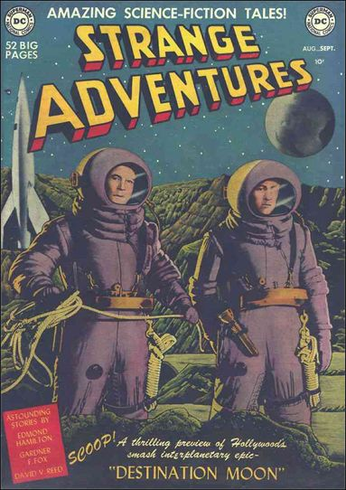 Strange Adventures (1950) 1-A by DC