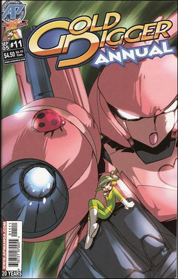 Gold Digger Annual 11-A by Antarctic Press