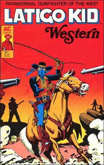 Latigo Kid Western 1-A by AC