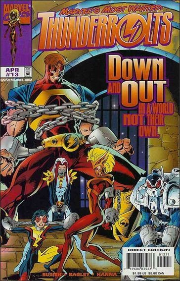 Thunderbolts (1997) 13-A by Marvel