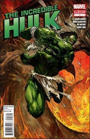 Incredible Hulk (2011)  1-H by Marvel