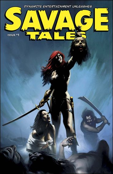 Savage Tales (2007) 1-C by Dynamite Entertainment