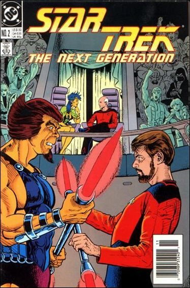 Star Trek: The Next Generation (1989) 2-A by DC