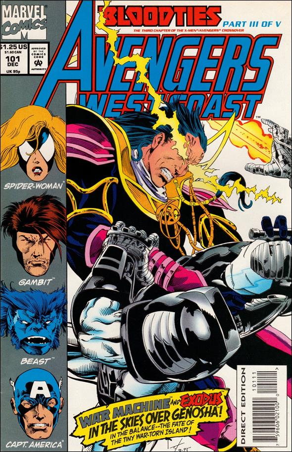 Avengers West Coast 101-A by Marvel
