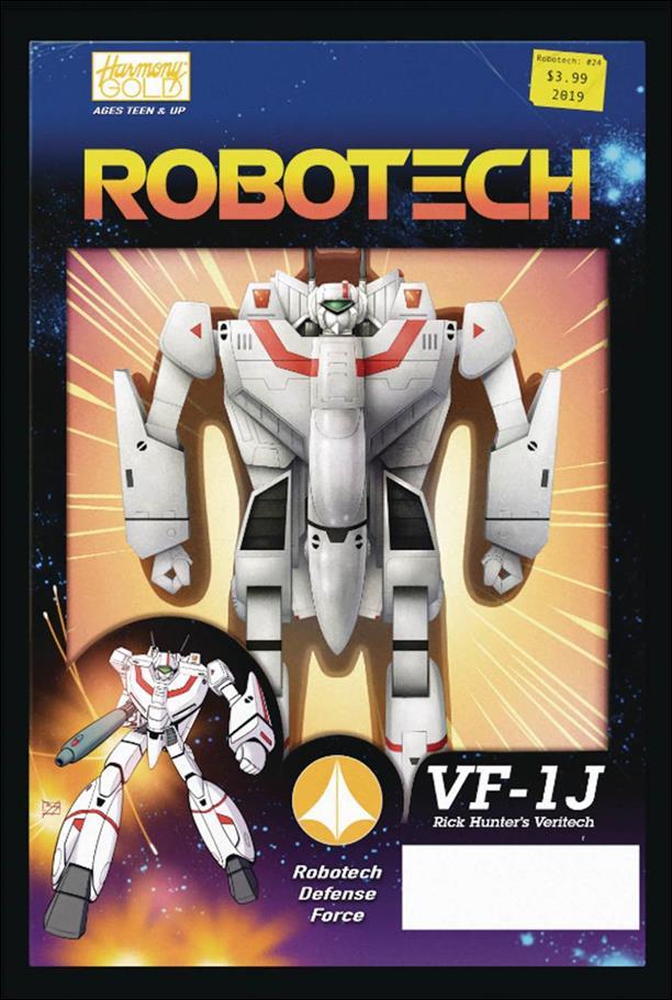 Robotech (2017) 24-B by Titan