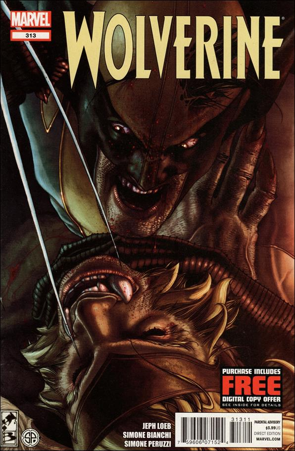 Wolverine (1988)  313-A by Marvel