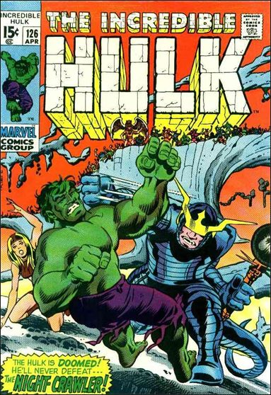 Incredible Hulk (1968) 126-A by Marvel