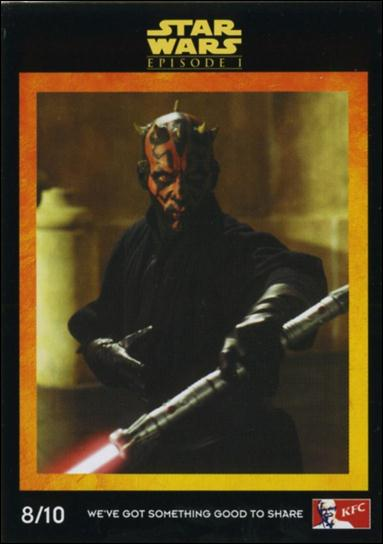 Star Wars: Episode I The Phantom Menace Kentucky Fried Chicken AUS (Promo) 8/10-A by Lucasfilm Ltd.