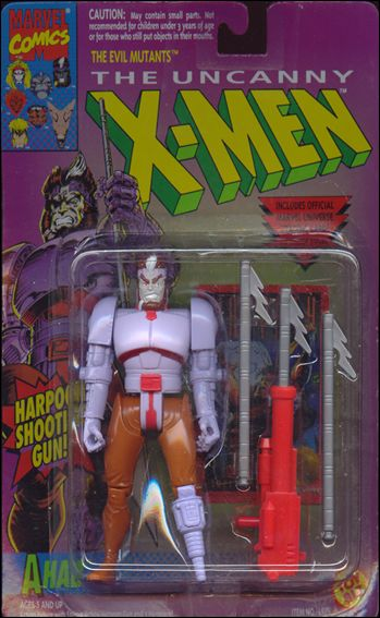 "X-Men 5"" Action Figures Ahab by Toy Biz"