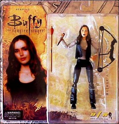 "Buffy the Vampire Slayer Deluxe (Series 1) ""Bad Girls"" Faith by Gentle Giant"