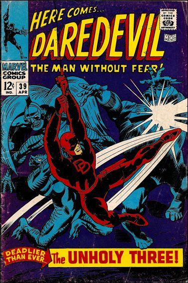 Daredevil (1964) 39-A by Marvel