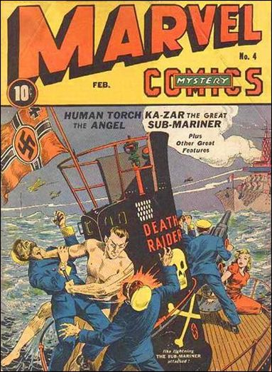 Marvel Mystery Comics (1939) 4-A by Timely