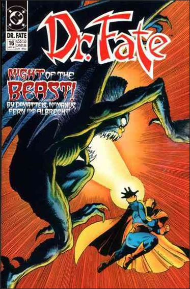 Doctor Fate (1988) 16-A by DC