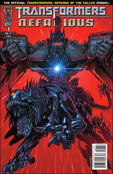 Transformers: Nefarious 1-B by IDW