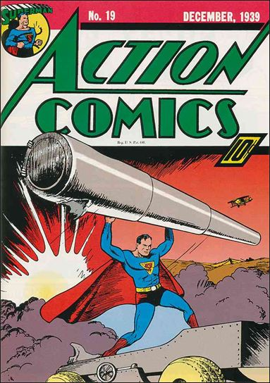 Action Comics (1938) 19-A by DC