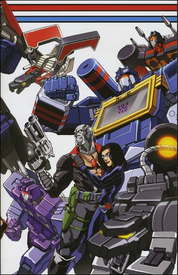 G.I. Joe vs the Transformers: The Art of War 4-C by Devil's Due