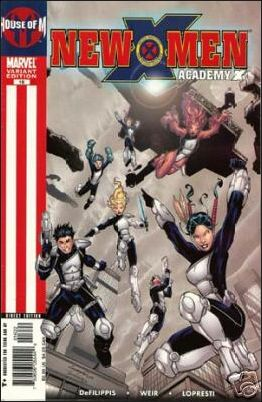 New X-Men: Academy X 16-B by Marvel