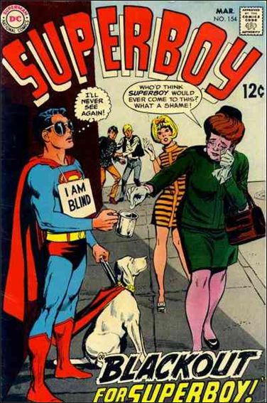 Superboy (1949) 154-A by DC