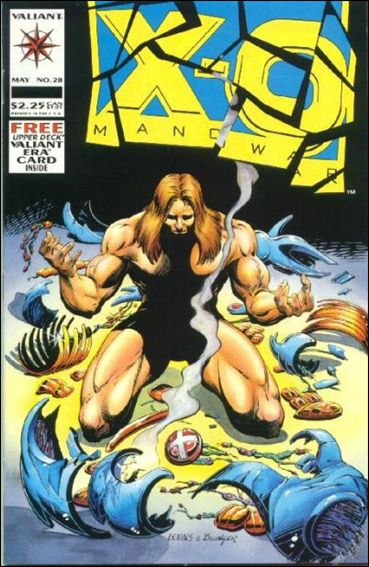 X-O Manowar (1992) 28-A by Valiant